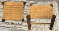 Porch Weave Stool