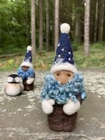 Needle Felted Mini Jack Frost