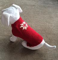 Pamper your Pooch with a Custom-Made Dog Sweater!  Part 1
