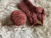 How to Knit Socks (Flap Heel and Gusset) - Part 1