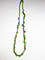 Beaded Kumihimo: Round Japanese Cord Necklace