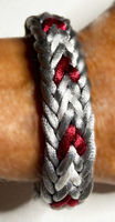 Kumihimo Flat Braiding: Heart Braid Bracelet - Part 1