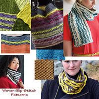 Woven Slip-Stitch Knitting