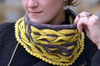 Shades of Amber Cowl